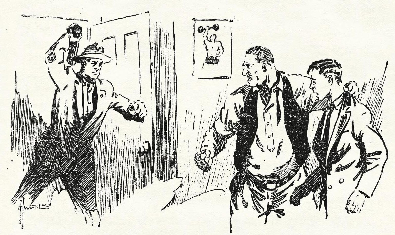 Or Maybe Alaska - Popular Magazine, August 1, 1930 - Story by John Randolph Phillips, illustration by George H. Wert